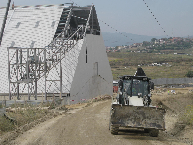 L'entreprise N'Gaous construit une raffinerie de sucre de 16 hectares en périphérie d'Alger.<br>Photo: le 28 juin 2018</br>