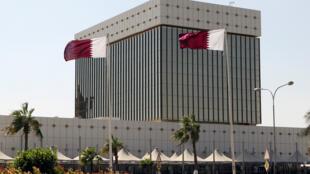 Trụ sở Ngân Hàng Trung Ương Qatar. Ảnh chụp ngày 09/11/2011.