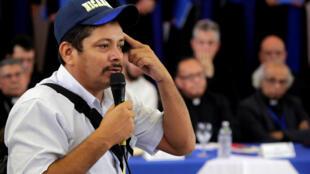 Medardo Mairena en Managua el pasado 16 de mayo de 2018.