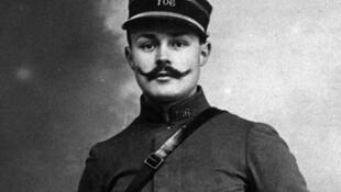 Maurice Genevoix combatió en la Primera Guerra Mundial hasta abril de 1915.