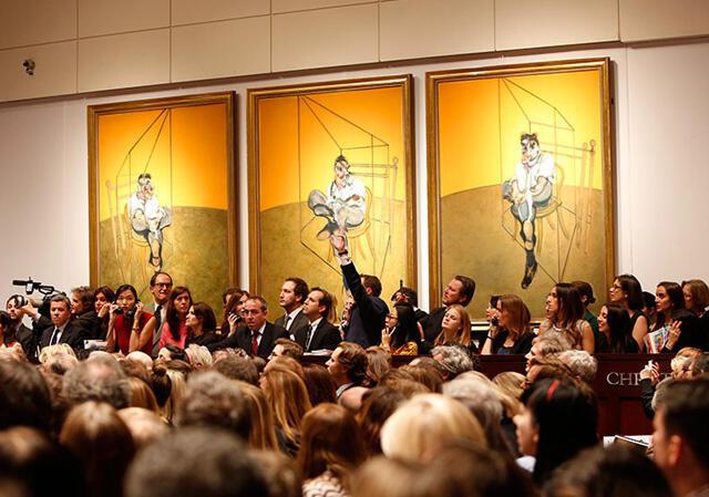 Рекордная продажа Christie's - триптих Бэкона