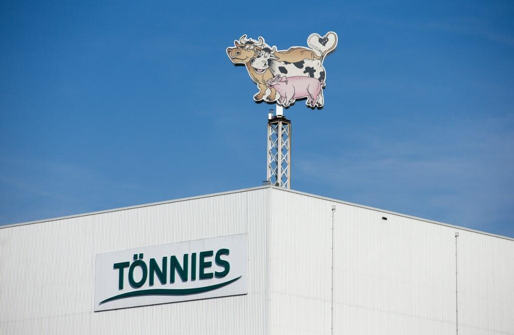 Logo  da  firma  Tönnies  de Gûtersloh