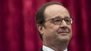 Le président de la république François Hollande, le 2 octobre 2016, à Paris.