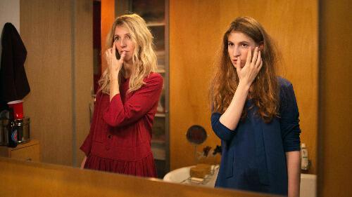 Sandrine Kiberlain et Agathe Bonitzer dans «La belle et la belle» de Sophie Fillières.