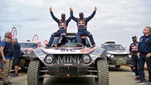 Stéphane Peterhansel - Mini - Automobilismo - Rali Dakar - Todo-O-Terreno - Arábia Saudita - Rallye