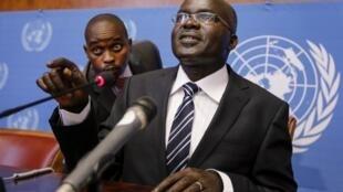 Makamu wa pili wa rais wa Burundi, Gervais Rufyikiri, ambaye ametangaza kujiuzulu kwenye wadhifa wake.
