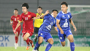 Đội tuyển Việt Nam gặp lại Thái Lan ở môn bóng đá SEA Games 2015 (DR)