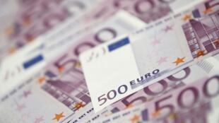 Os dias da cédula de 500 euros poderiam estar contados muito associado a fraudes.