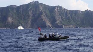 Trong vòng một tháng, tàu Trung Quốc ba lần thâm nhập Senkaku /Điếu Ngư, gây nguy cơ va chạm - REUTERS /Ruairidh Villar