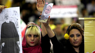 طرفداران مهدی کروبی در جریان انتخابات ریاست جمهوری ایران در سال ۱۳۸۸