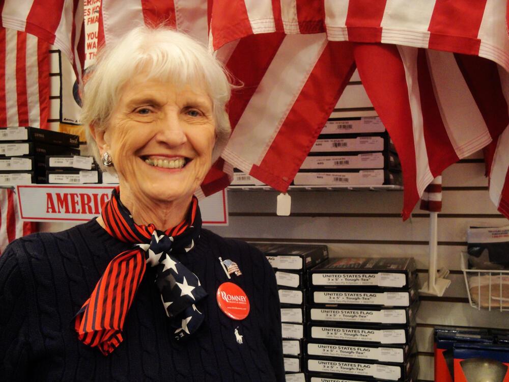 Mary Leavitt The Flag Lady