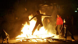 جشن چهارشنبه سوری  - ١٣٩٦