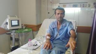 جعفر عظیم زاده، دبیرهیئت مدیرۀ اتحادیۀ آزاد کارگران ایران-تصویر آرشیوی