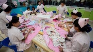 山西太原儿童医院婴儿体检2012年12月3日