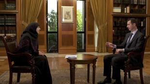 "بشار اسد در گفتگو با شبکه تلویزیونی حزب الله ""المنار"""