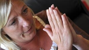 Clean hands? Front National leader Marine Le Pen