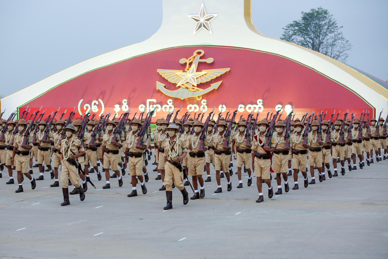 Birmanie - Naypyidaw - Parade militaire 2021-03-27T083008Z_23271832_RC2KJM9SKXBI_RTRMADP_3_MYANMAR-POLITICS-ARMY-ANNIVERSARY