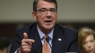 Le secrétaire américain à la Défense, Ashton Carter, a annoncé le déploiement temporaire d'armements lourds dans six pays européens.