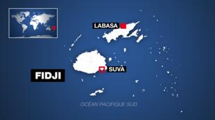 L'archipel des Fidji.
