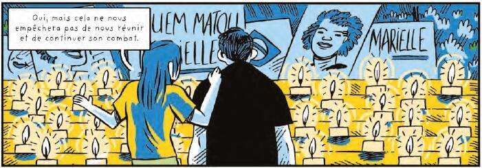 """""""Lynchages Ordinaires"""" retrata a imensa comoção que a morte de Marielle Franco gerou no Brasil."""