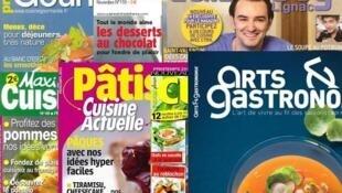 Обложки кулинарных журналов