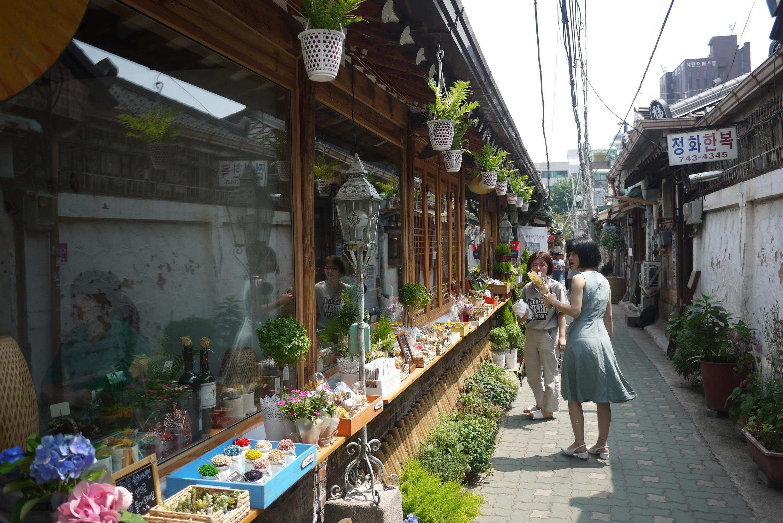 Quartier Ikseon-dong dans le centre de Séoul.