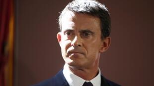 Thủ tướng Pháp Manuel Valls.