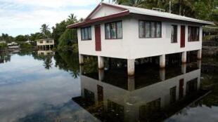 ពលរដ្ឋនៅ Tuvalu ជិតពាក់កណ្តាលរស់ប្រឈមនឹងការឡើងកម្ពស់ទឹកសមុទ្ទ