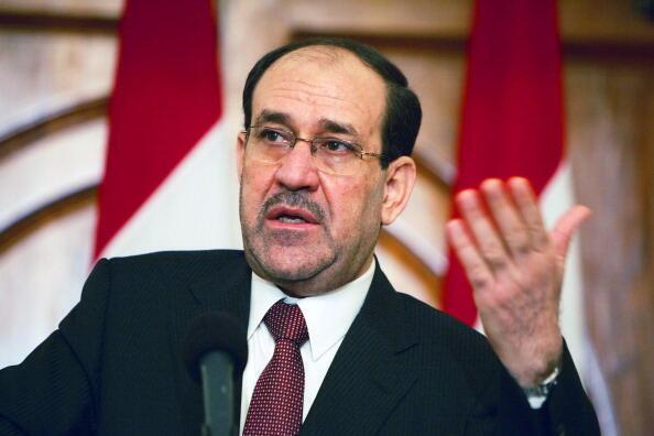Waziri Mkuu wa Iraq Nouri Al Maliki ambaye yupo kwenye ziara nchini Marekani