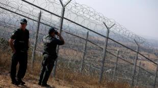 Kapitan-Andreevo, região entre a Bulgária e a Turquia, foi o local escolhido para inaugurar o novo serviço de proteção das fronteiras europeias.