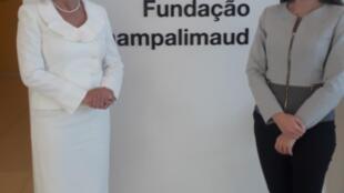 Dra. Liana Ventura, uma das fundadoras da Fundação Altino Ventura e Dra. Camila Ventura médica e pesquisadora da Fundação