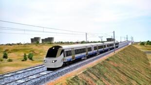 A Johannesburg, les visiteurs pourront emprunter le Gautrain (photo), premier train à grande vitesse sud-africain dont une ligne devrait ouvrir  entre l'aéroport et le quartier des affaires de Sandton, trois jours avant le coup d'envoi du Mondial-2010.