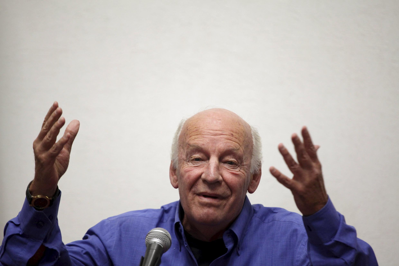 Eduardo Galeano nació y murió en Montevideo.