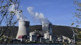 Authorities say the earthquake caused no apparent damage to the Cruas nuclear power plant.