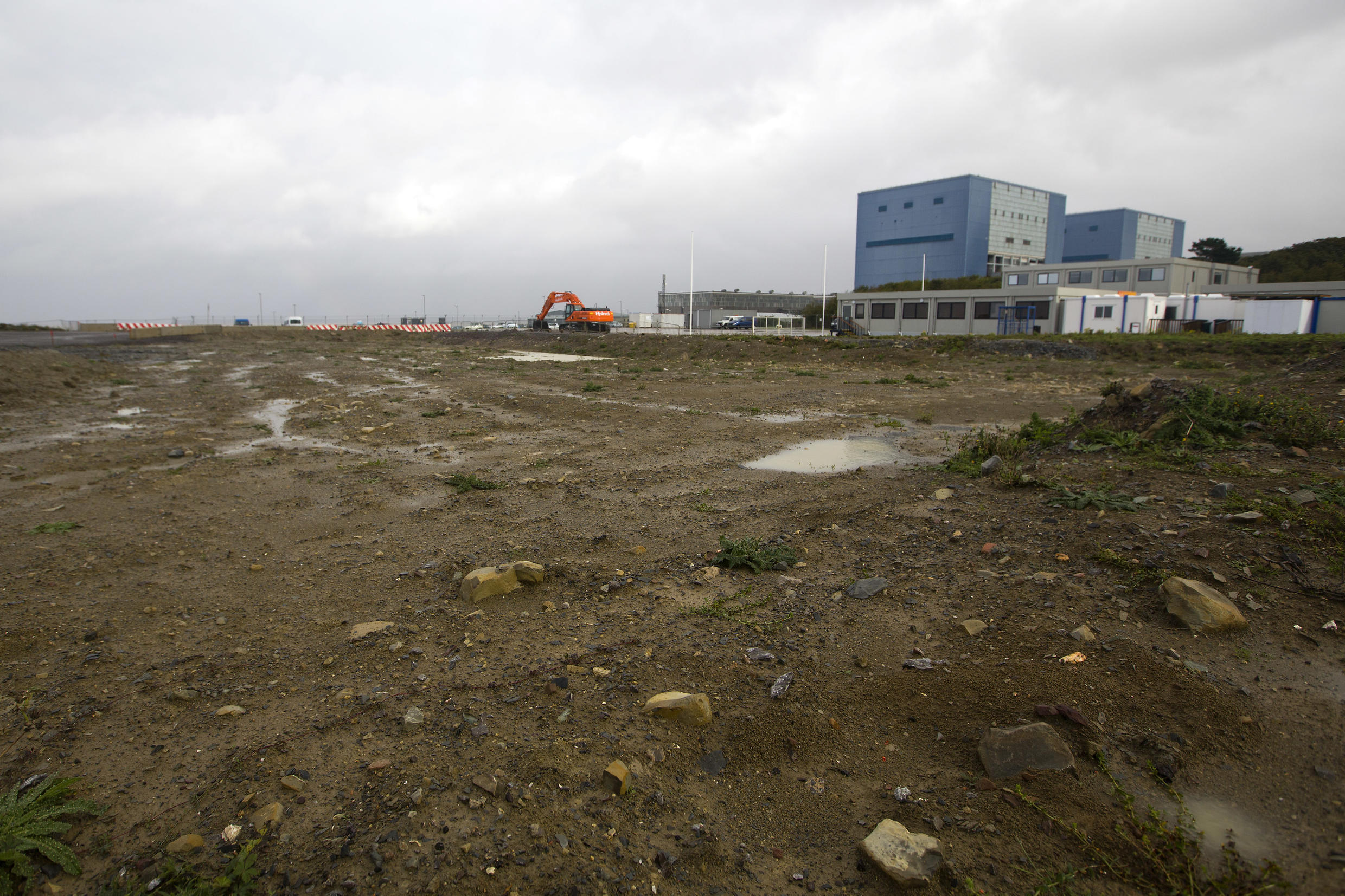 The Hinkley Point site in Britain in Octobber, 2013