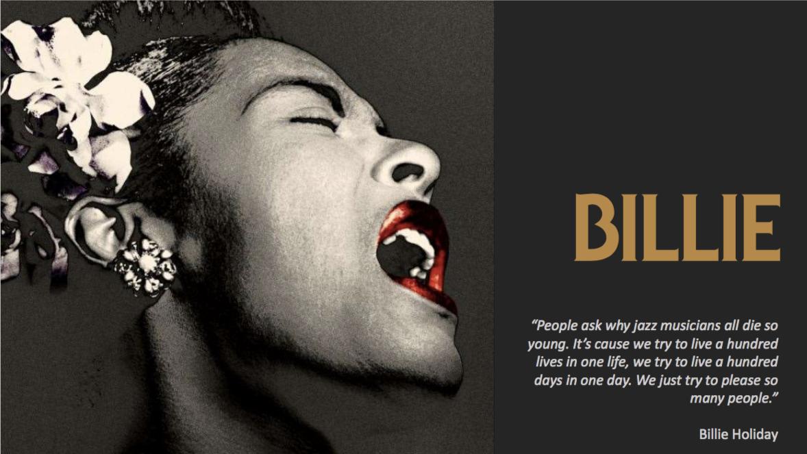 """Affiche du film """"Billie"""" de James Erskine."""