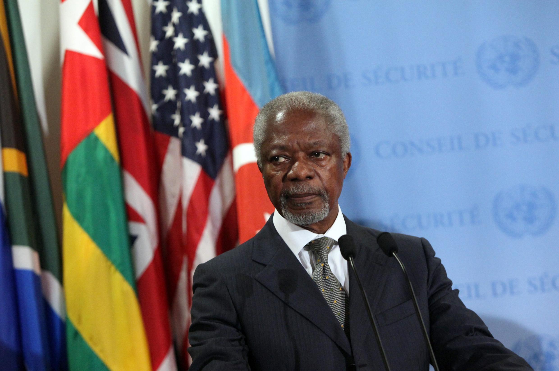 Tsohon Sakkatare Janar na MDD, Kofi Annan