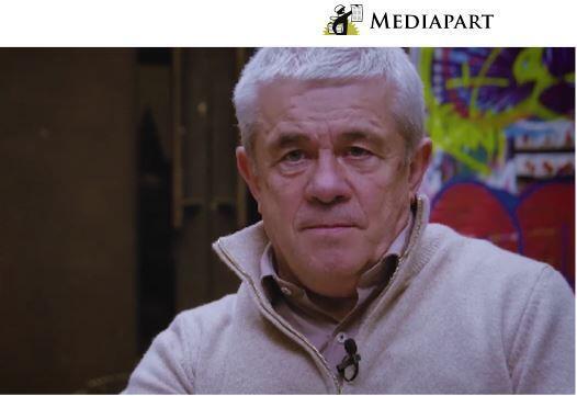 Иллюстрация к статье Mediapart «Человек из Москвы за спиной Беналлы» от 17 июля 2019.