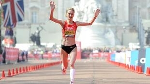 L'athlète russe Liliya Shobukhova.