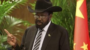 South Sudanese President Salva Kiir, 25 april 2012