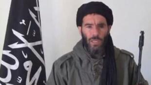 Le chef jihadiste Mokhtar Belmokhtar dans une vidéo non datée.
