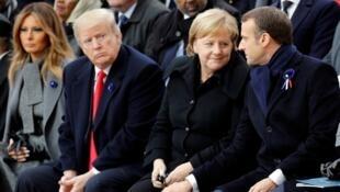 美国、德国、法国三国领导人资料图片