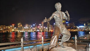 香港星光大道上李小龙雕像