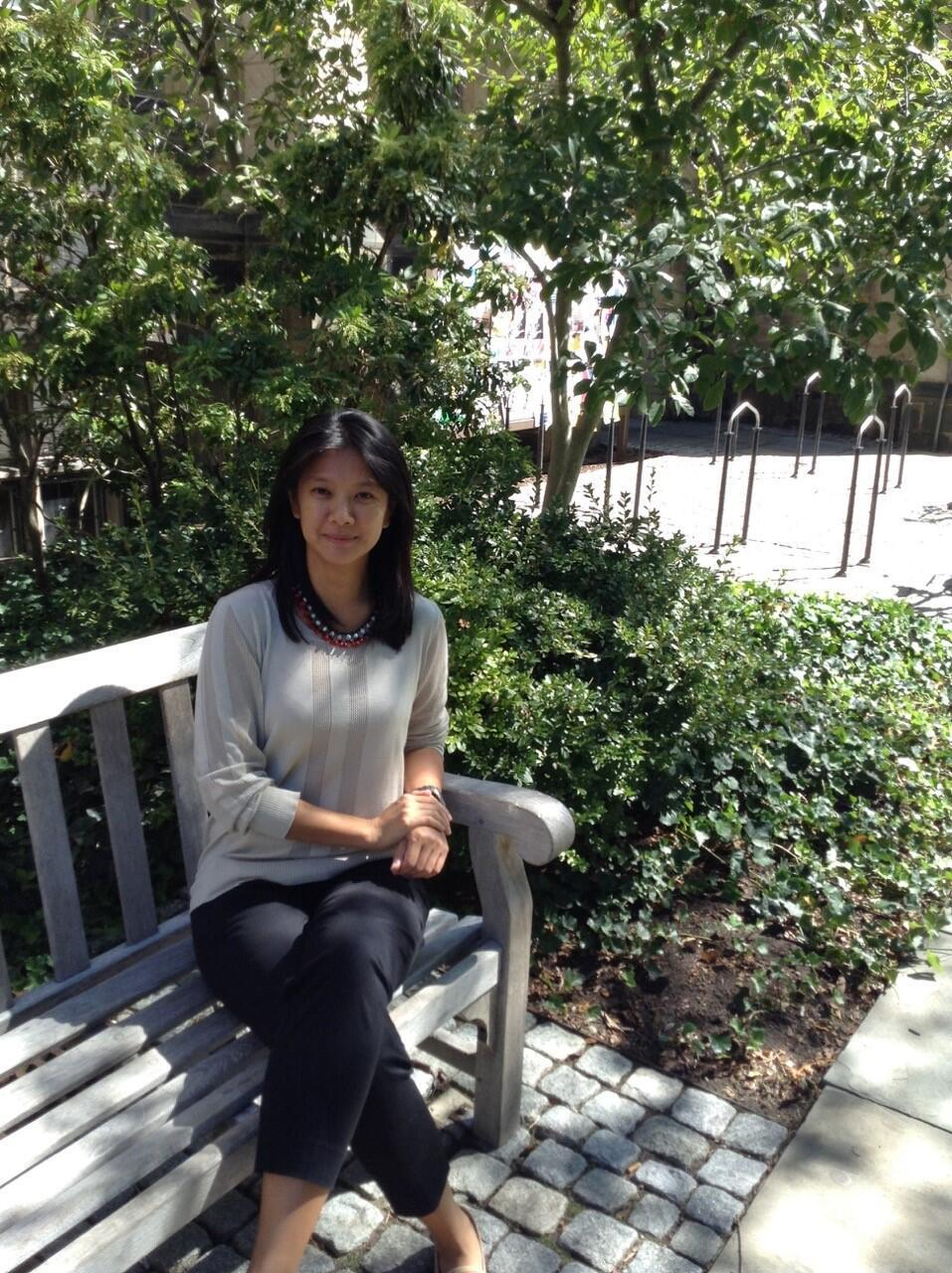 Nhà nghiên cứu lịch sử Đông Dương Stéphanie Ponsavady, đại học Wesleyan, Hoa Kỳ.