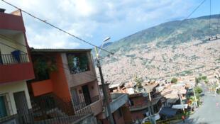 Vista de Medellín.