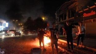 Manifestation de colère à Benghazi, Libye, le 12 septembre 2020.