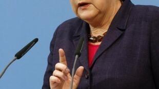 A chanceler alemã, Angela Merkel, confirmou a detenção dos jornalistas alemães no Irã durante uma visita à Romênia.