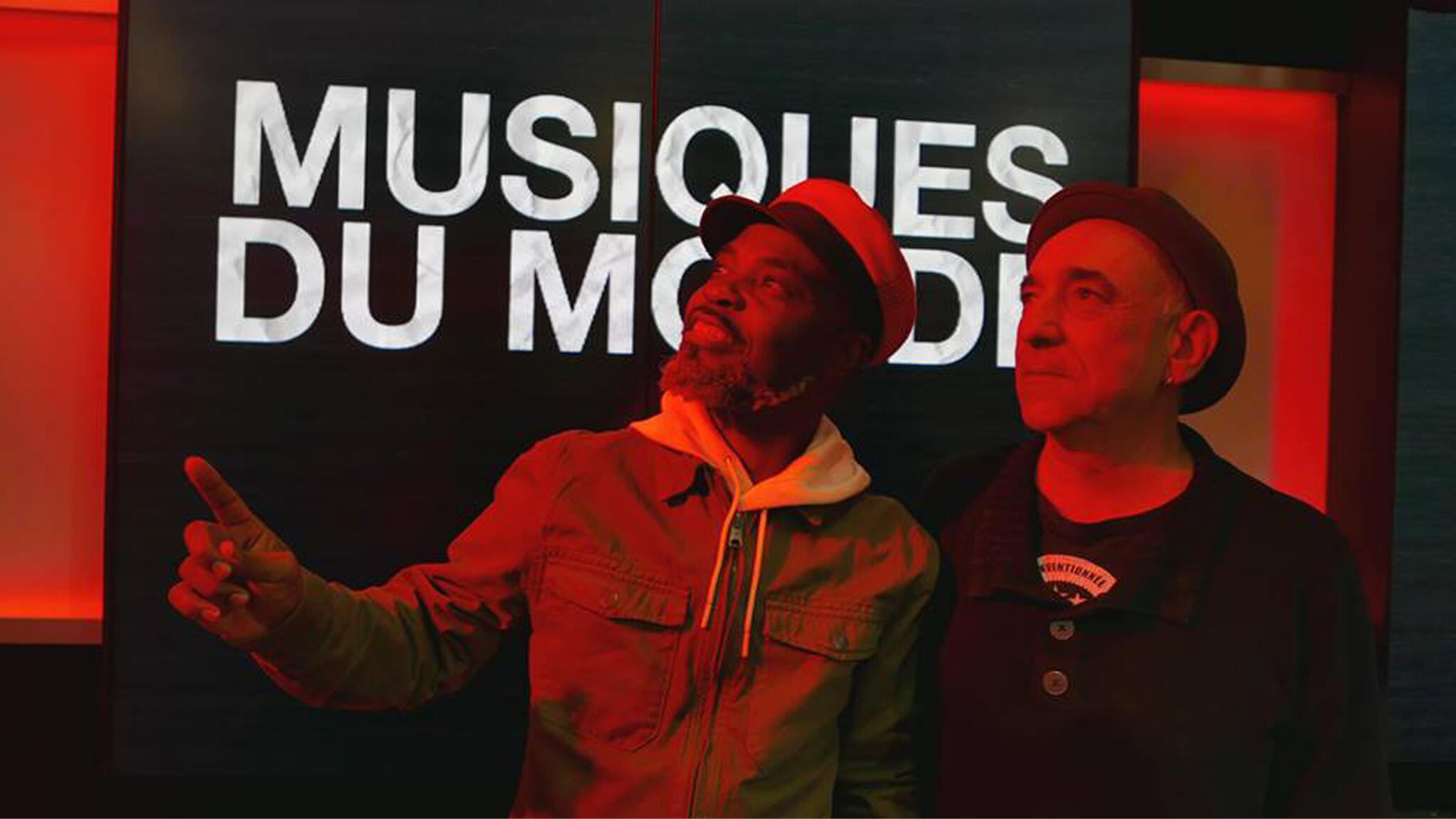 Lulendo et Denis Péan à RFI.