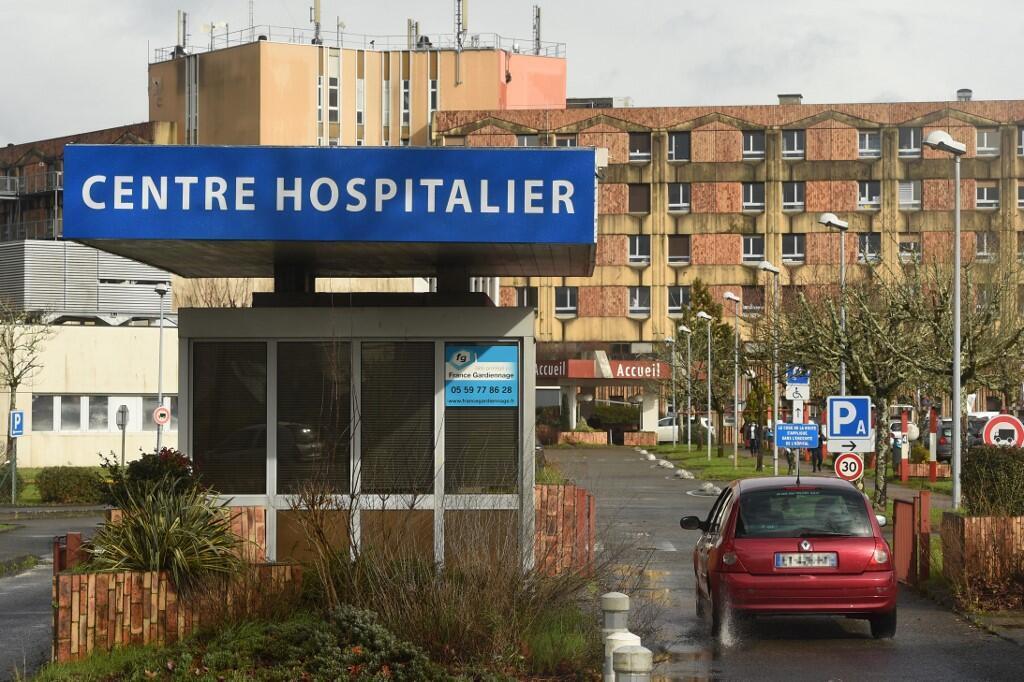 法国一医院中心外景。