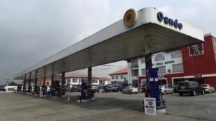 Une station-service à Lagos. (photo d'illustration)